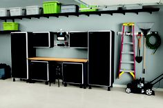 Garage Storage Cabinets and Shelves.