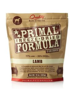 Primal Pet Foods Freeze-Dried Canine Lamb Formula, 14 oz (Pack of 2) *** For more information, visit image link. (This is an affiliate link and I receive a commission for the sales)