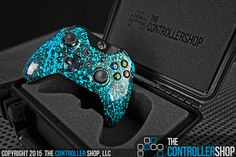 Want the most vibrant and unique controller available? Design yours at http://tcs.bz #customcontroller #giftideas #birthdayideas #teal #xboxone #xbox360 #ps4 #gaming #geek #tech