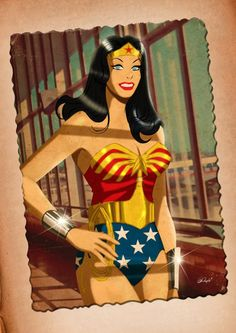 Wonder Woman - Des Taylor