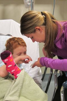 Child Life Specialist, Megan, spends her days working with children with cancer. Learn more about Megan on the CureSearch blog!