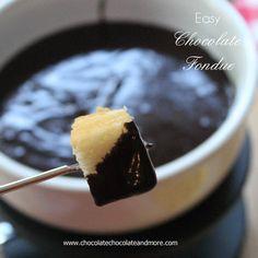 Easy Chocolate Fondue and Sara Lee Angel Food Cake #NationalAngelFoodCakeDay #chocolates #sweet #yummy #delicious #food #chocolaterecipes #choco