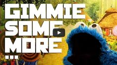 """Hilarious! Watch Cookie Monster Rap Like Busta Rhymes! """"Gimmie Some More… Cookies!"""" is a mashup of scenes from Sesame Street's """"Cookie of Oz"""" that's set to the soundtrack of Busta Rhymes' """"Gimme Some More.""""  - http://www.mustwatchnow.com/hilarious-watch-cookie-monster-rap-like-busta-rhymes/"""
