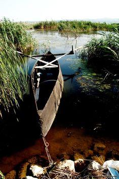 Lake Doirani #lake #escape #wildlife #water #alternativetourism #trees #green #sky #boat #travel