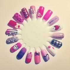 Valentines Nail Wheel