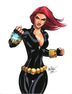 Black Widow by Scott Dalrymple
