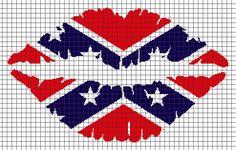 Crochet Patterns Rebel Flag : Afghan crochet patterns, Confederate flag and Afghan crochet on ...