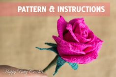 Hey, I found this really awesome Etsy listing at https://www.etsy.com/listing/216524416/crochet-bouquet-rose-pattern-open @lizzbeth13