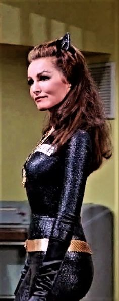 Julie Newmar as Catwoman Julie Newmar, Batman 1966, Batman And Superman, Batman Robin, Batman Tv Show, Batman Tv Series, Original Catwoman, James Gordon, Catwoman Cosplay