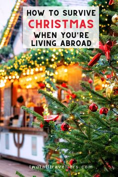Spending Christmas without family is one of the hardest things about travelling & living abroad. We've got 5 tips to help when you're abroad for Christmas! Christmas China, Christmas Travel, Holiday Travel, Xmas, Things To Do In Brisbane, China Travel Guide, Living In China, Best Christmas Markets, Maldives Travel