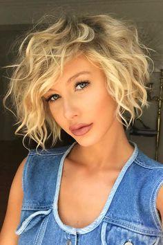 20 mejores cabellos cortos para cabello ondulado |  #Best #Hair #Short #Wavy