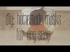 DIY // Homemade Masks for Dry Scalp -  CLICK HERE for The No. 1 Itchy Scalp, Dandruff, Dry Flaky Sore Scalp, Scalp Psoriasis Book! #dandruff #scalp #psoriasis Hey everyone – I tend to suffer from dry scalp in the winter months, and I've tested out some homemade treatments for dry scalp using ingredients that are fairly... - #Dandruff