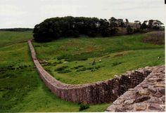 Hadrian's Wall from Housesteads Fort, Northumberland, U.K. http://www1.american.edu/dgolash/hadrian.htm