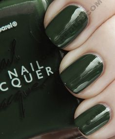 american apparel hunter swatch nail lacquer