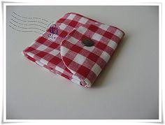 Artesanato e Cia: Carteira em tecido.Fácil,fácil!