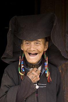 Shehuayi, China | A 95 year old Yi woman © Jay ~ JET_BKK