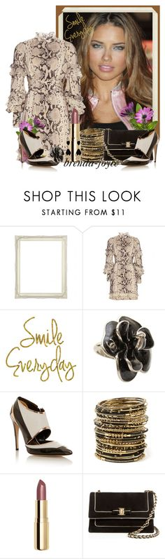 """""""Smile Everyday!"""" by brenda-joyce ❤ liked on Polyvore featuring Roberto Cavalli, Chanel, Prabal Gurung, Amrita Singh, H&M, Salvatore Ferragamo, Givenchy, women's clothing, women's fashion and women"""