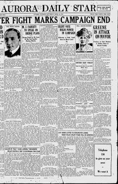 KANE COUNTY - AURORA -1921-1924,  1932. Aurora Daily Star - Google News Archive Search