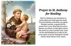 Prayer to St. Anthony