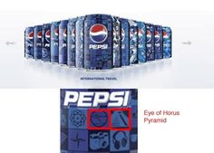 These special Pepsi cans | 33 Signs The Illuminati Is Real