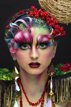 Art #colors #facepaint