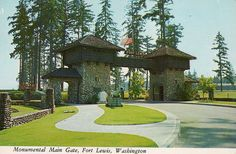 WA Ft. Lewis Monumental Main Gate | Flickr - Photo Sharing!