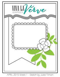 Rosemary Reflections: Viva La Verve Sketches - April Week 1