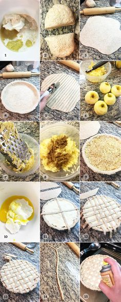 Zdravý mřížkový jablečný koláč - foto postup Healthy Food, Healthy Recipes, Camembert Cheese, Baking, Fitness, Healthy Foods, Bakken, Healthy Eating Recipes, Healthy Eating