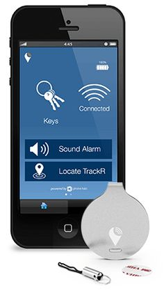 Lose stuff? Use your iPhone or Android to find it with this TrackR.