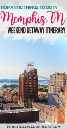 Memphis, Tennessee: home of amazing music, delicious food, and fascinating history. Spend a romantic weekend exploring this United States travel destination with our weekend getaway itinerary! Tennessee travel | Midwest travel | USA Travel | Southern states travel | Memphis travel guide | USA Weekend trips | Couple's travel | Weekend getaway | Romantic travel destinations #TravelDestinationsUsaMidwest #romantictraveldestinations #romantictrips