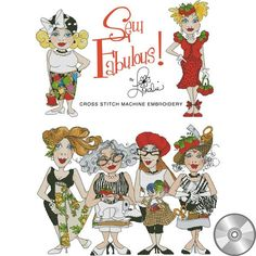 Sew Fabulous! Cross Stitch Machine Embroidery Design Collection | Compact Disc                                                                                                                                                                                 More