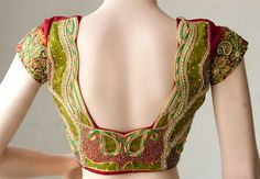 Gorgeous Saree blouse