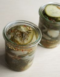 Homemade Market Burger Pickles. Could make great holiday gifts.