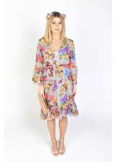 RW Courtney Dress made in New Zealand by Amber Whitecliffe Race Wear, Dress Making, Headpiece, Amber, Floral Tops, How To Make, Dresses, Women, Fashion