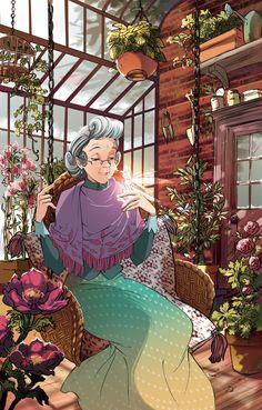 Fairy Oak-Lilac Tomelilla