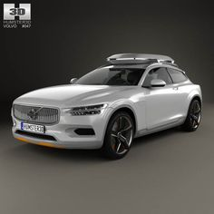 Volvo XC Coupe 2013 3d model from humster3d.com. Price: $75
