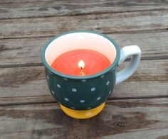 I've been making teacup candles from old cups, and wax for a while now and I've finally decided to get up off of the couch and make an instructable to share with you guys! This candle is fairly easy and only takes around 20 minutes to make. So thank you guys for clicking and I hope you enjoy!