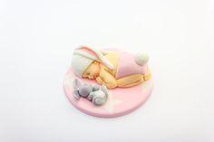 Fondant gum paste baby bunny