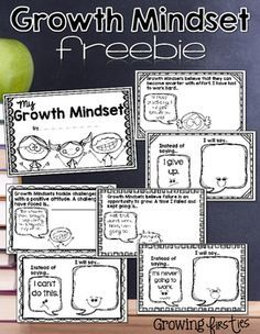 Looking to help build a growth mindset in your students? This interactive mini-book freebie will help you out!It is a non-editable PDF. Thank you for your interest!Check out my store! I love creating products with building growth mindset & independence in mind...Reading WorkshopWriting WorkshopMath Skills PracticeIntegrated Sight Words & Math Practice