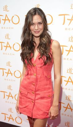 Odette Annable at TAO Beach Opening in Las Vegas on May 4, 2013