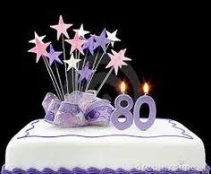 Resultado de imagen para torta para 80 años mujer