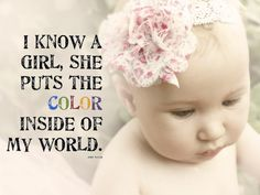 Imágenes De Cute Quote For A Baby Girl
