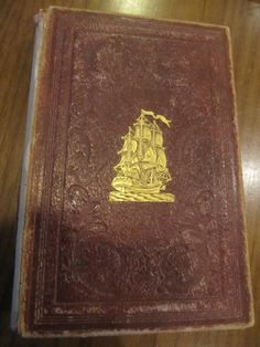 SCARCE THE MAYFLOWER ILLUSTRATED SOUVENIR BOOK FOR 1848 GREAT PLATES!!!