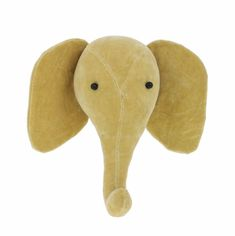 This Luxury Mini Teal Elephant Velvet Animal Head by Fiona Walker England, is simply stunning. Add a statement to any playroom, bedroom or Fiona Walker, Milk Shop, Elephant Head, Wild Style, Animal Heads, Felt Crafts, Handmade Crafts, Wool Felt, Feltro