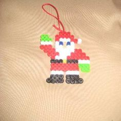 Santa ornament from Teresa's Crafty Creations for $6.50