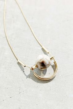 Great-Minded Marble Necklace - Urban Outfitters