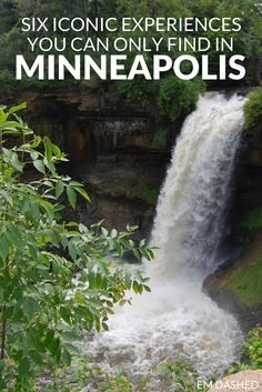 It's kind of hard to get to Minneapolis, Minnesota on accident -- so here's why you should get there on purpose. Click through for a list of iconic experiences you can only find in this Midwest US city -- including Minnehaha Falls, the Mississippi River, a Jucy Lucy at Matt's, and more.
