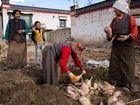 Gyantse, perchée à 4 040 m d'altitude, conserve encore son identité tibétaine