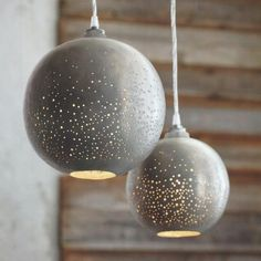 Beautiful interior design ideas dropped suspension ball design