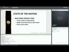 OneCoin - State of Nation - Webinar - July 2015 Organization, Youtube, Getting Organized, Organisation, Tejidos, Youtubers, Youtube Movies